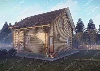 Каркасный дом - проект ТОС-19
