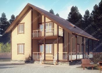 Каркасный дом - проект ТОС-22