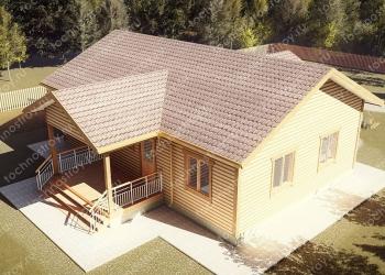 Каркасный дом - проект ТОС-24