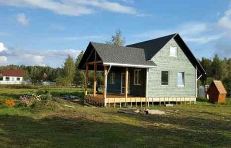 зеленый дом по каркасной технологии